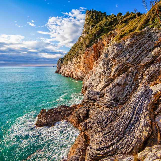 """""""Rugged cliffs"""" stock image"""