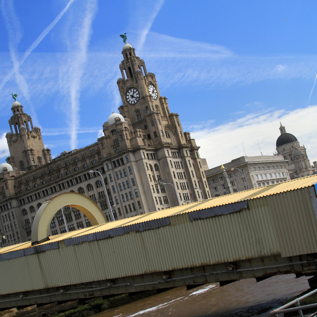 """""""Welcome To Liverpool"""" stock image"""