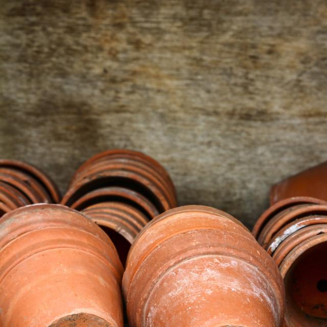 """Plant pots"" stock image"