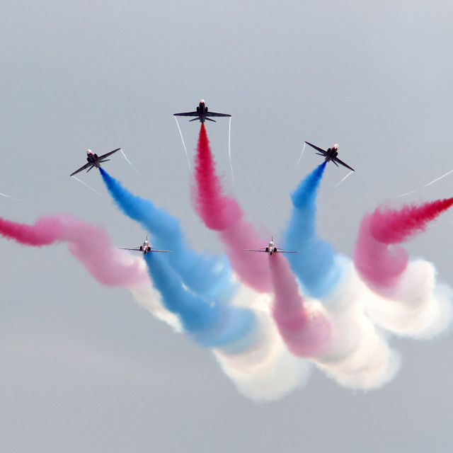 """Red Arrows Detonator"" stock image"
