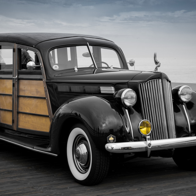 """Vintage Packard"" stock image"