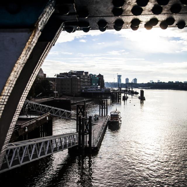 """River Thames, London, UK"" stock image"