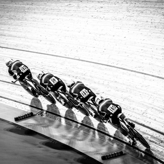 """Track worlds London 2016"" stock image"