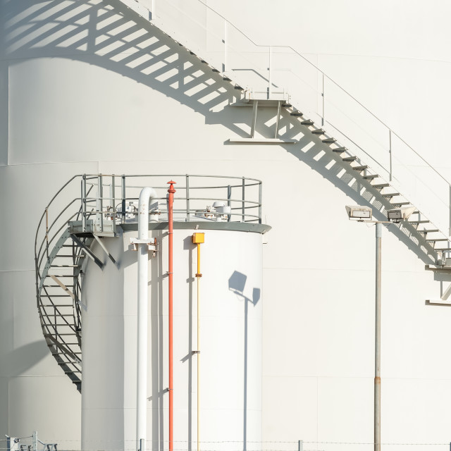 """fuel storage depot"" stock image"