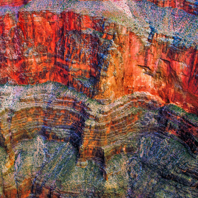 """Grand Canyon West Rim-2"" stock image"