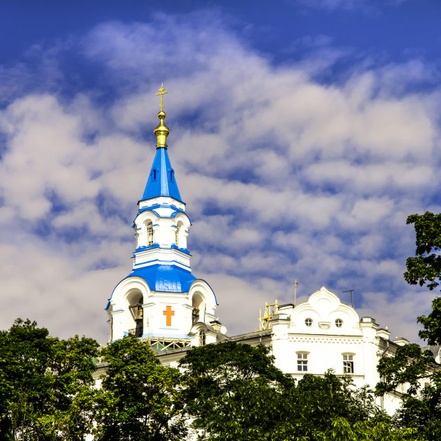 """Transfiguration of the Savior Cathedral in Valaam"" stock image"