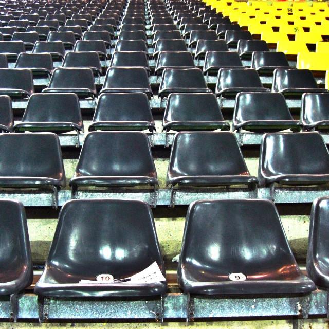 """Football Stadium"" stock image"