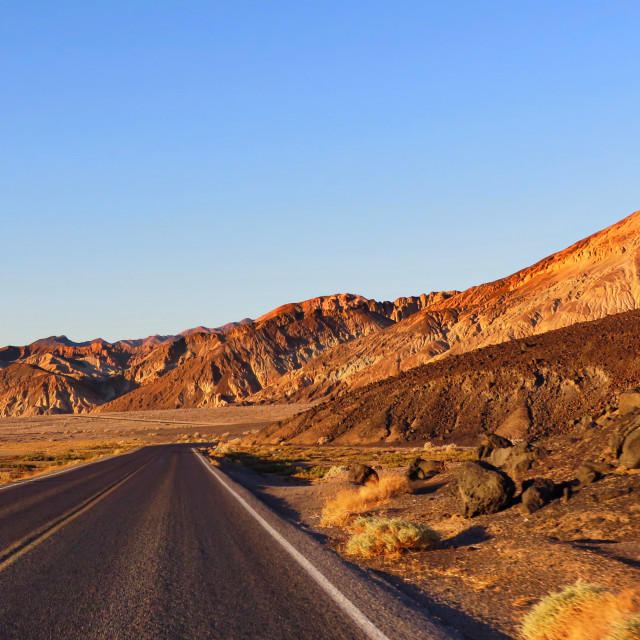"""""""Death Valley"""" stock image"""