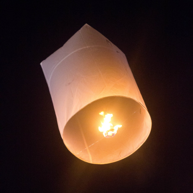 """Lantern Rises"" stock image"