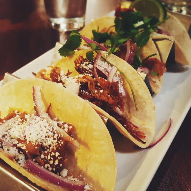 """carnitas tacos"" stock image"