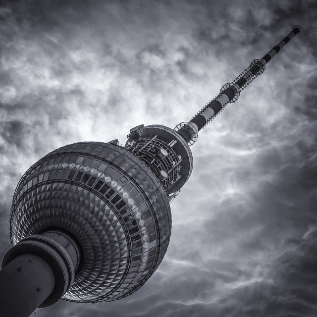 """Berlin TV Tower"" stock image"