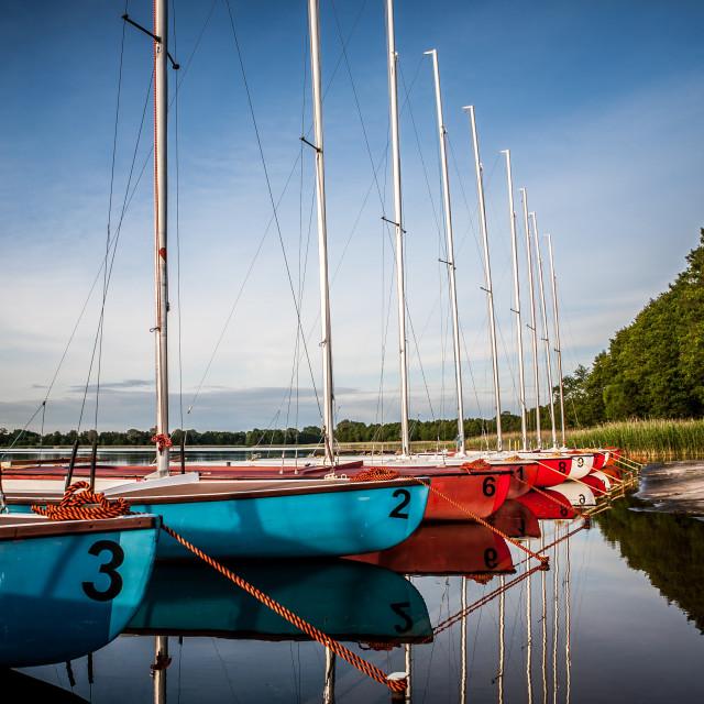 """""""Sailboats"""" stock image"""