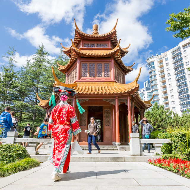 """Destination Temple"" stock image"