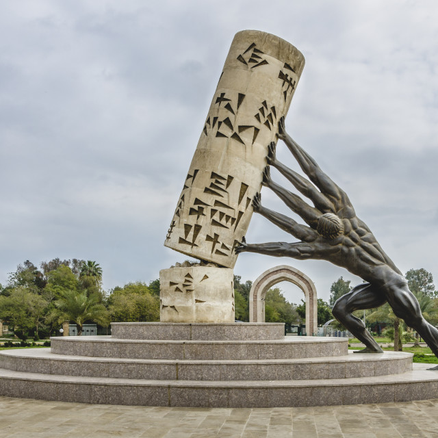 """Saving Culture Monument"" stock image"