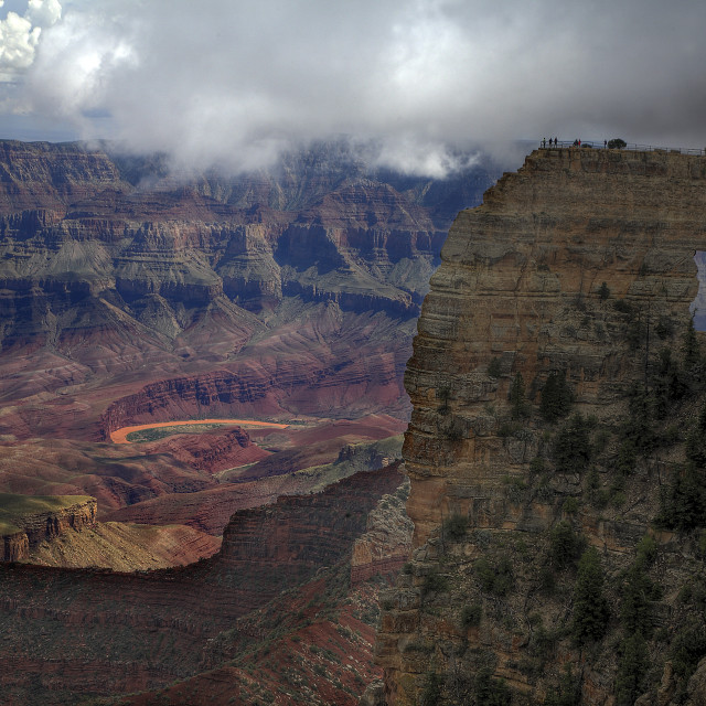 """Angel's Window North Rim Grand Canyon"" stock image"