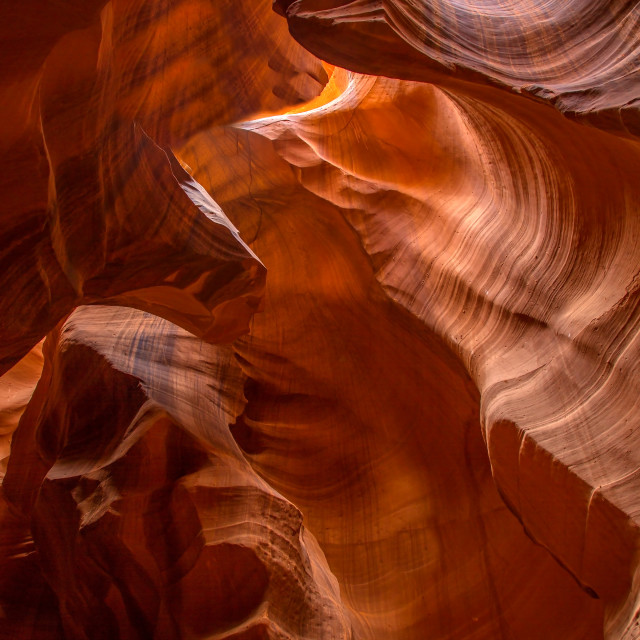 """Upper Antelope Canyon"" stock image"