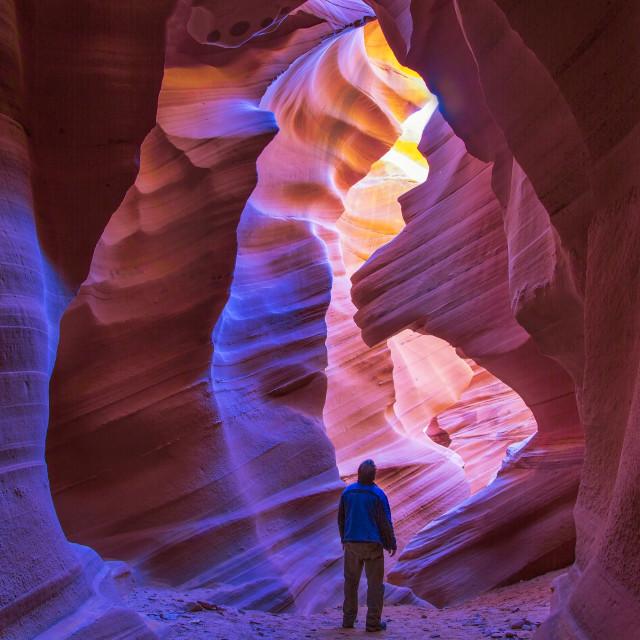 """Antelope Canyon"" stock image"