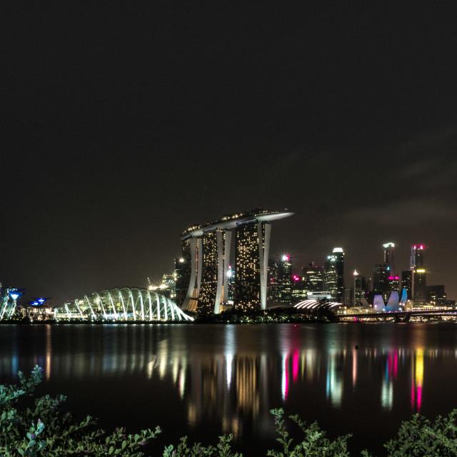"""Marina Bay Sands"" stock image"