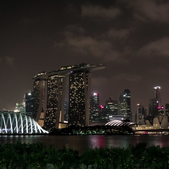 """Marina Bay Sands Singapore"" stock image"
