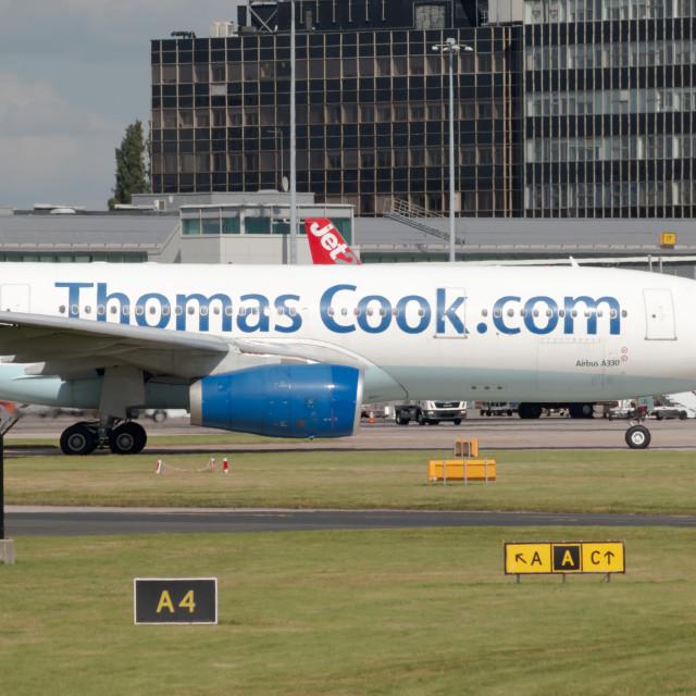 """Thomas Cook A330"" stock image"