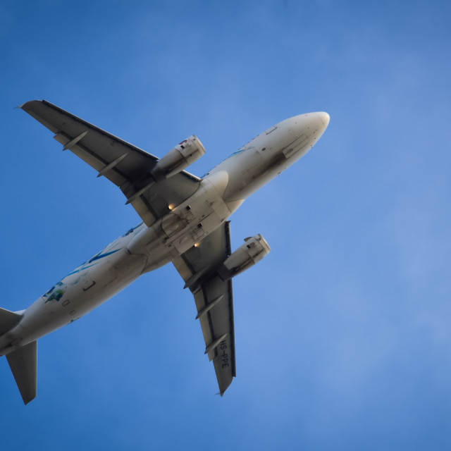 """""""Flying to the sky"""" stock image"""