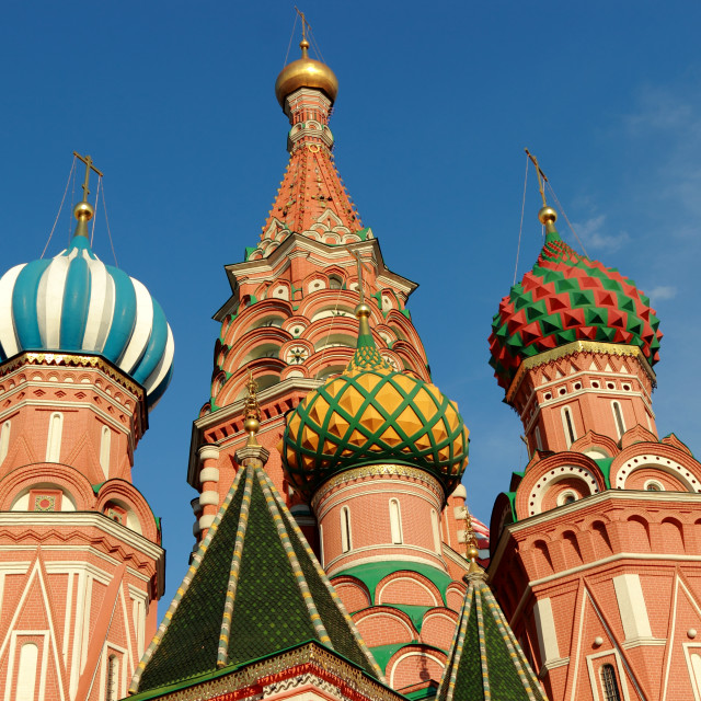 """St. Basil's Cathedral, Moscow, Russia"" stock image"