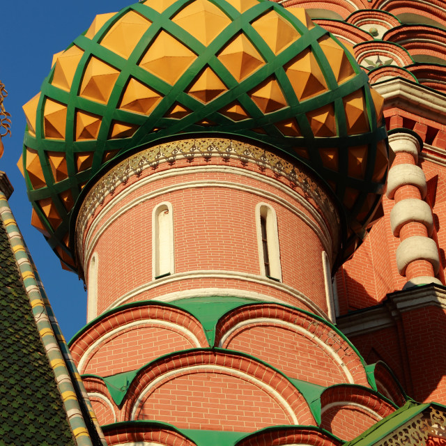 """""""St. Basil's Cathedral, Moscow, Russia"""" stock image"""
