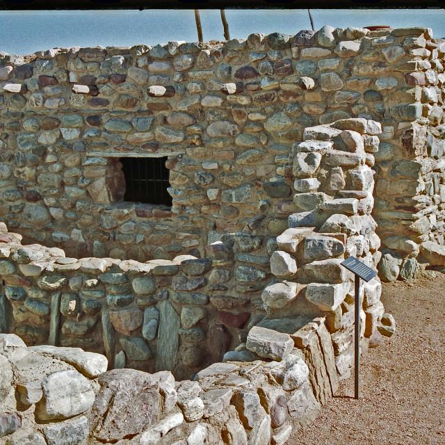 """""""Salado Indian Pueblo"""" stock image"""
