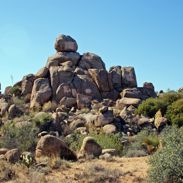 """""""Rocks and boulders."""" stock image"""