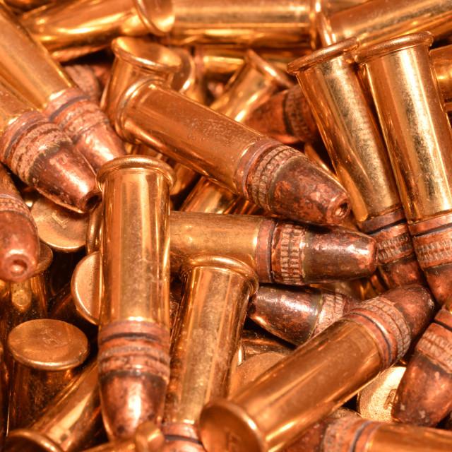 """Rimfire ammunition"" stock image"