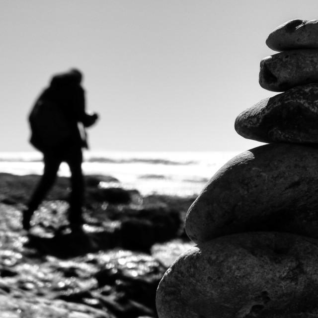 """""""Zen Rocks"""" stock image"""