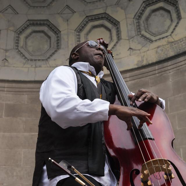 """Charnett Moffett Bass Virtuoso 1"" stock image"