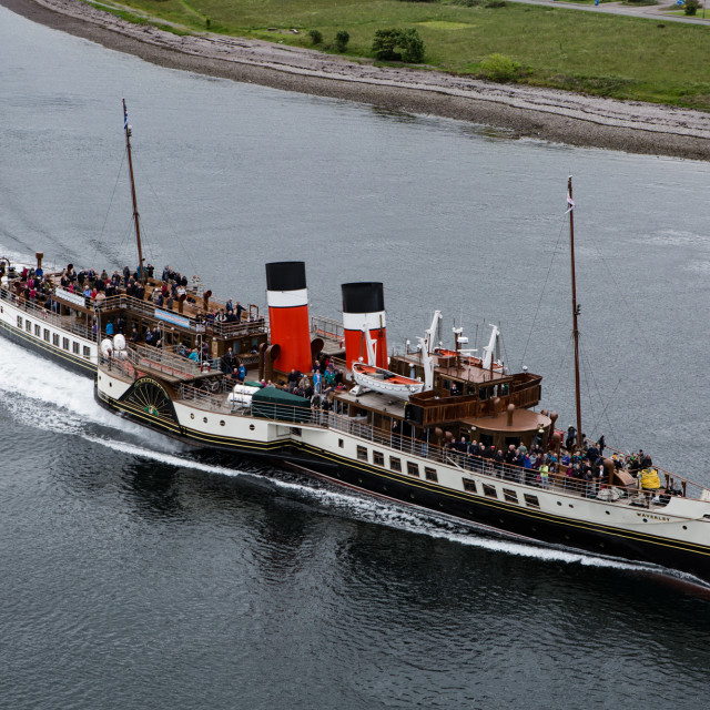 """The Waverley"" stock image"