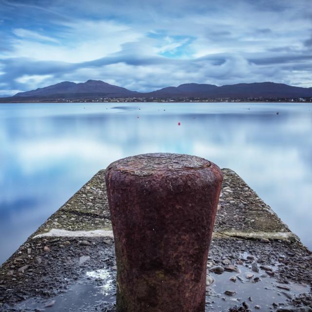 """Broadford bay Isle of Skye"" stock image"