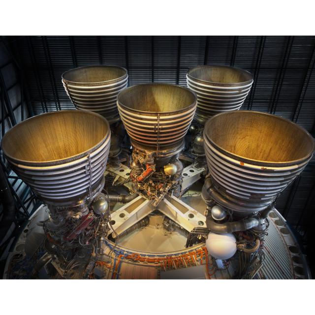 """""""Rocket Engines"""" stock image"""