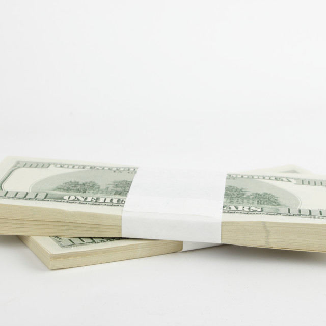 """""""American national currency/Dollars"""" stock image"""