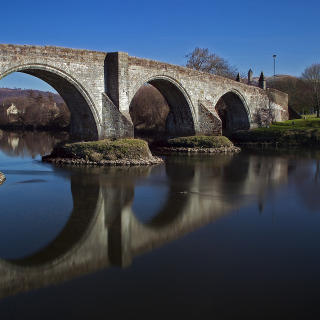 """Stirling Bridge"" stock image"