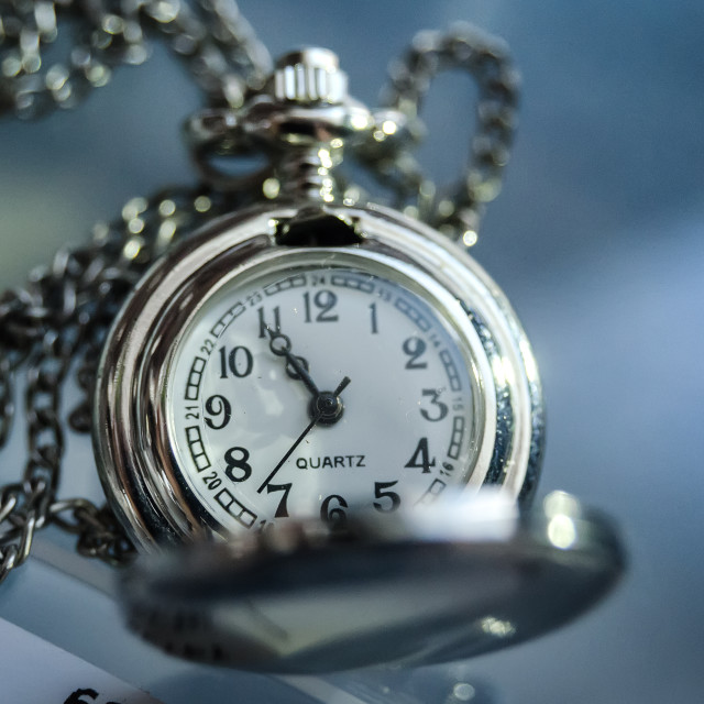 """""""Blue Time"""" stock image"""