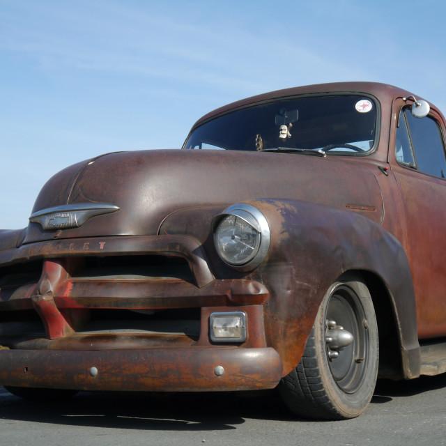 """Big Brutal car Ludlow"" stock image"