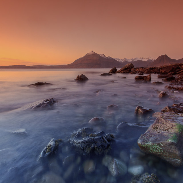 """Elgol, Isle of Skye"" stock image"