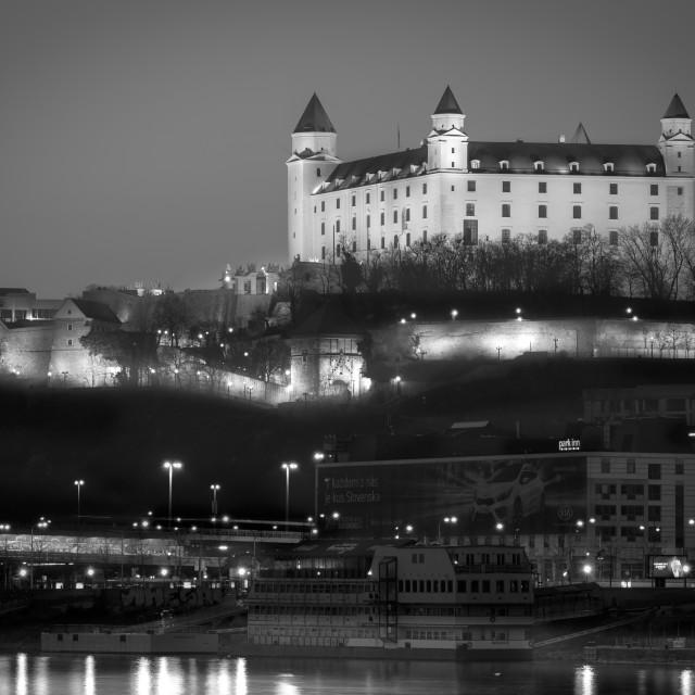 """Castle - Bratislava"" stock image"