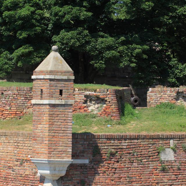 """Kalemegdan fortress in Belgrade"" stock image"