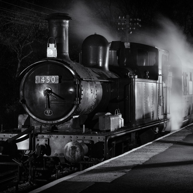 """GWR 1450"" stock image"