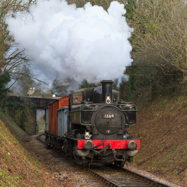 """GWR No.1369"" stock image"