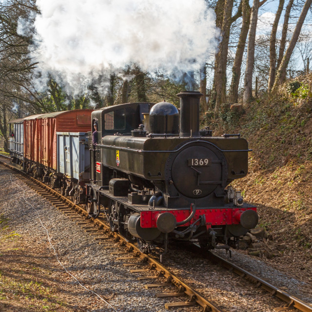 """Countryside Railway"" stock image"