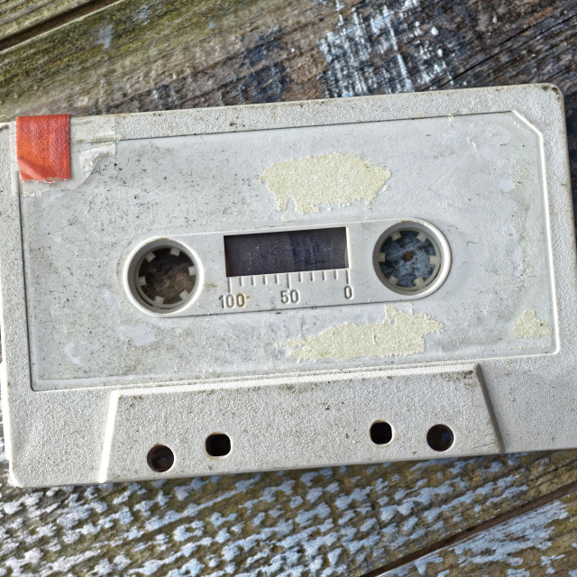 """Audio Cassette Tape"" stock image"
