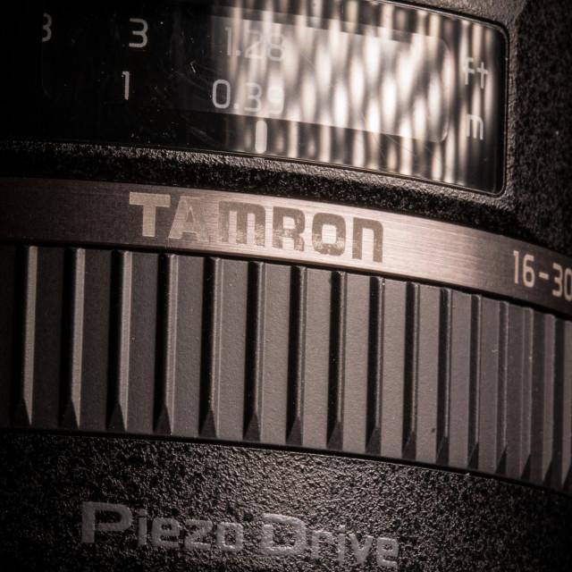 """""""Tamron 16-300mm lens"""" stock image"""