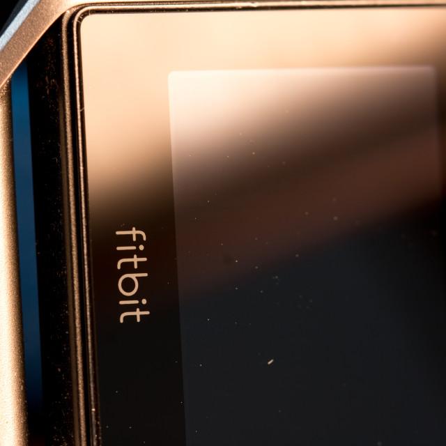 """Fitbit blaze"" stock image"