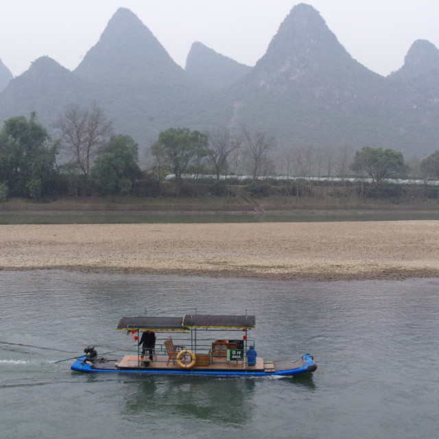 """The Li-jiang River"" stock image"