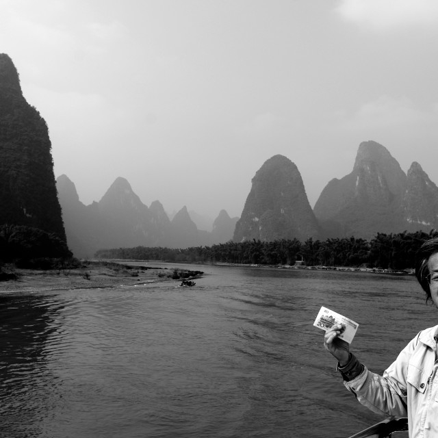 """Li River Cruise"" stock image"